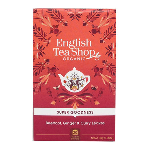 English Tea Shop Organic Beetroot, Ginger & Curry Leaves Teabags