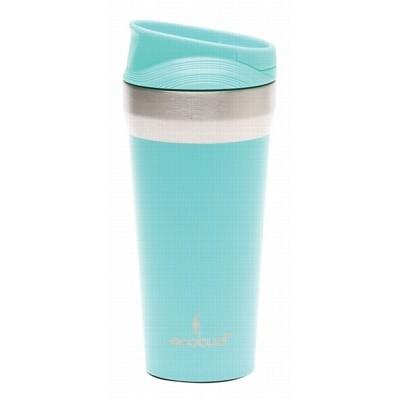 ECOBUD Vacuum Insulated Mug Stainless Steel - Aqua 400ml