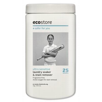 ECOSTORE Laundry Soaker & Stain Remover Ultra Sensitive (Fragrance Free) 1kg