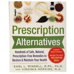BOOK Prescription Alternatives - by Earl Mindell & Virginia Hopkins
