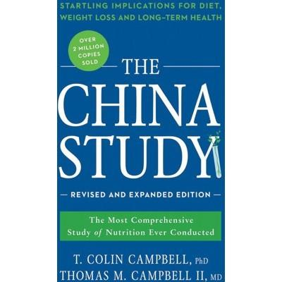 BOOK The China Study by T. Colin Campbell & Thomas M. Campbell