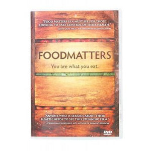 FOODMATTERS You Are What You Eat DVD - 80 min