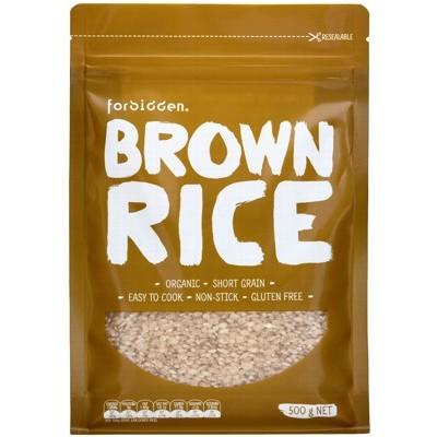 FORBIDDEN Short Grain Brown Rice 500g