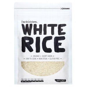FORBIDDEN Short Grain White Rice 500g