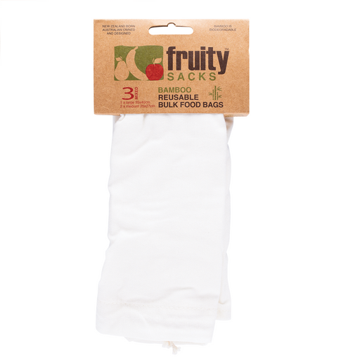Fruity Sacks Reusable Bamboo Shopping Bags Bulk Food