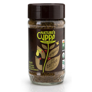 Nature's Cuppa Organic Coffee Freeze Dried Granules 100g