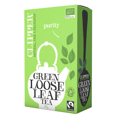 Clipper Tea Green Loose Leaf Fair Trade Organic 100g