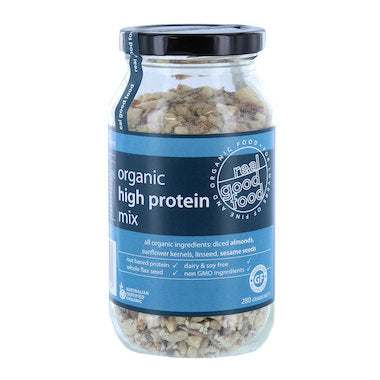 REAL GOOD FOOD Organic High Protein Mix (jar) 280g