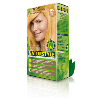 NATURTINT Sandy Gold Plant Based Hair Colour - 8G 155mL