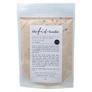 THE FIT FOODIE Cookie Dough Protein Ball Mix 185g