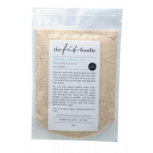 THE FIT FOODIE Vanilla & Coconut Protein Ball Mix 185g