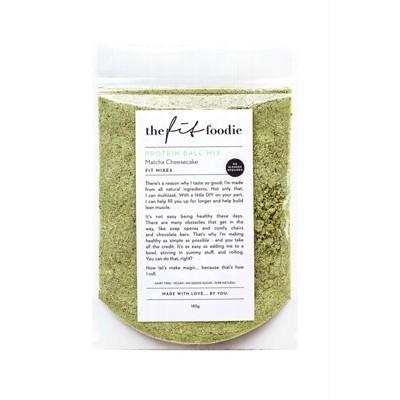 THE FIT FOODIE Protein Ball Mix Matcha Cheesecake 185g