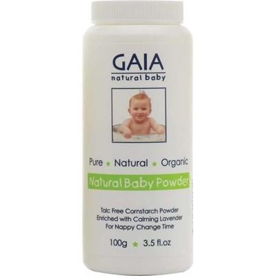 GAIA NATURAL BABY Organic Baby Cornstarch Powder - 100g
