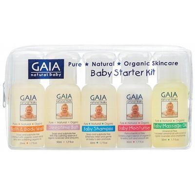 GAIA NATURAL BABY Organic Baby Starter Kit - 5x50ml