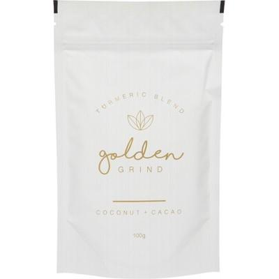 GOLDEN GRIND Turmeric Blend Golden Latte - Coconut & Cacao 100g