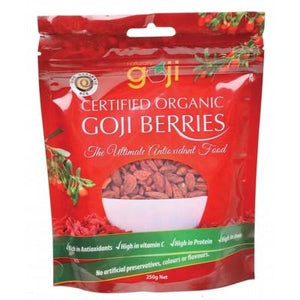 NATURALLY GOJI - Tibetan Organic Goji Berries 250g