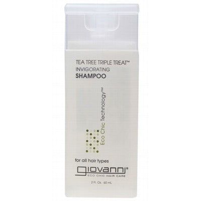 GIOVANNI Organic Shampoo Tea Tree Triple Treat (All Hair) 60ml