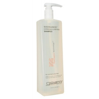 GIOVANNI 50/50 Balanced (Normal/Dry Hair) Organic Shampoo - 1L