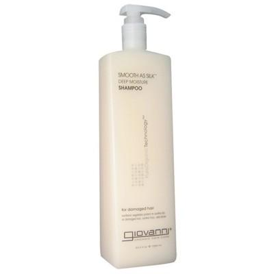 GIOVANNI Smooth As Silk (Damaged Hair) Organic Shampoo - 1L