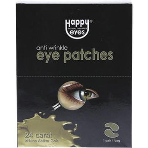 HAPPY EYES Anti Wrinkle Eye Patches - 20 Patches