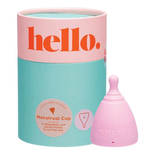 The Hello Cup Menstrual Cup - Blush Large