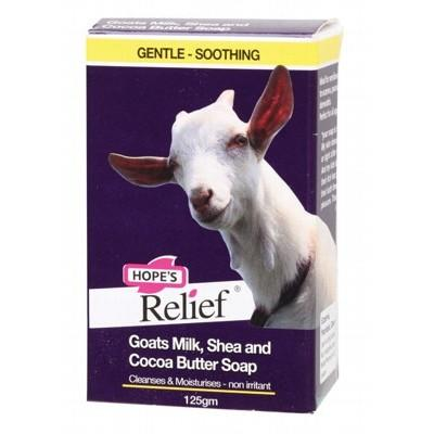 HOPE'S RELIEF Soap Goats Milk, Shea & Cocoa Butter 125g