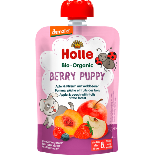 Holle Berry Puppy - Apple & Peach with Fruits of the Forest