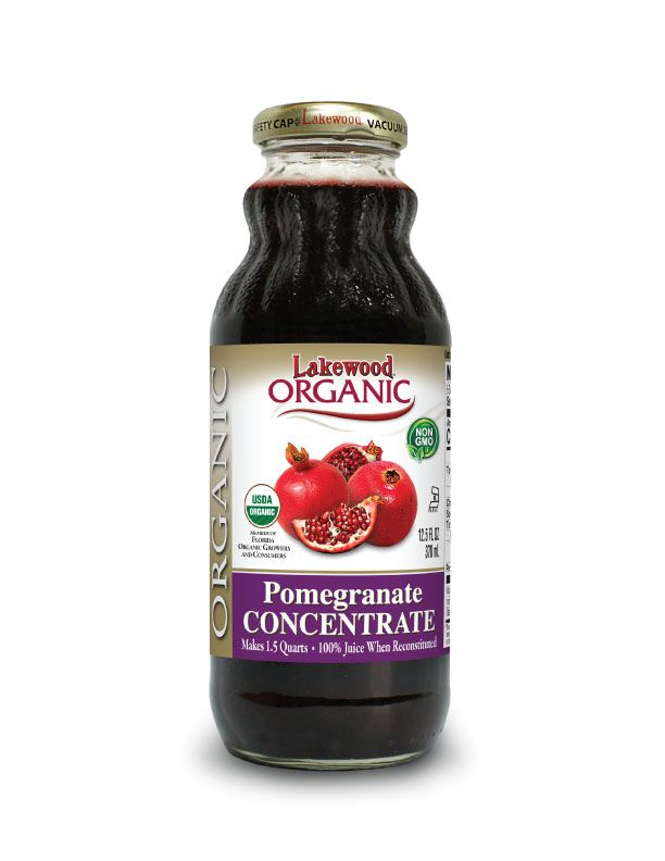 Lakewood Organic Pomegranate Concentrate Juice 370mL