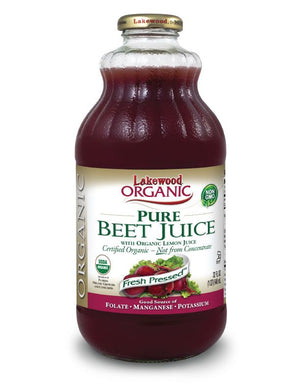LAKEWOOD Organic Beet Betroot Super Juice Cold Pressed 946mL