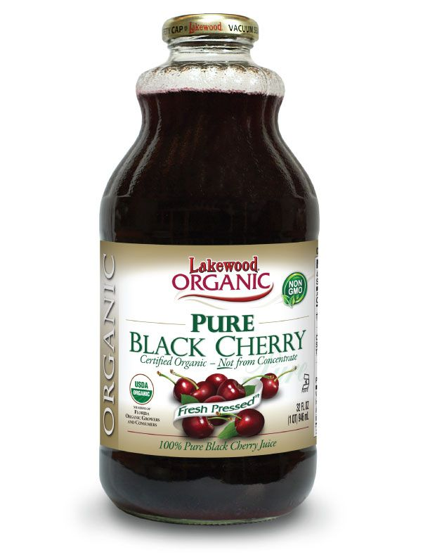 Lakewood Organic Black Cherry Juice 946mL