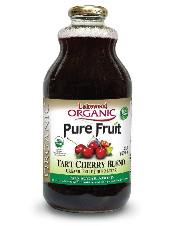 LAKEWOOD Organic Tart Cherry Juice Blend Cold Pressed 946mL