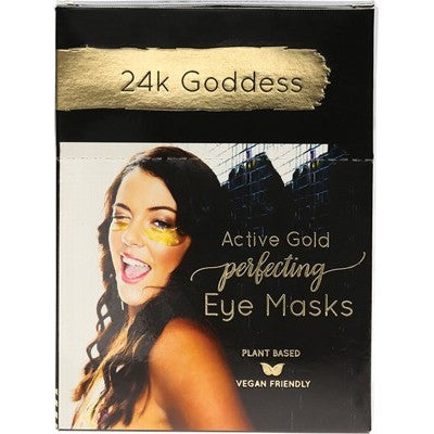24K GODDESS Perfecting Active Gold Eye Masks