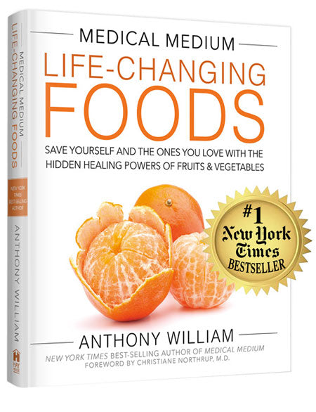 BOOK Medical Medium Life-Changing Foods By Anthony William
