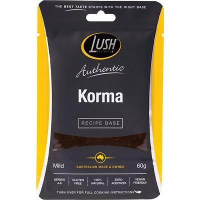 LUSH DELIGHTS Authentic Recipe Base Korma - Mild 60g