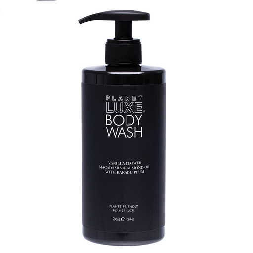 Planet Luxe Vanilla Blend Body Wash