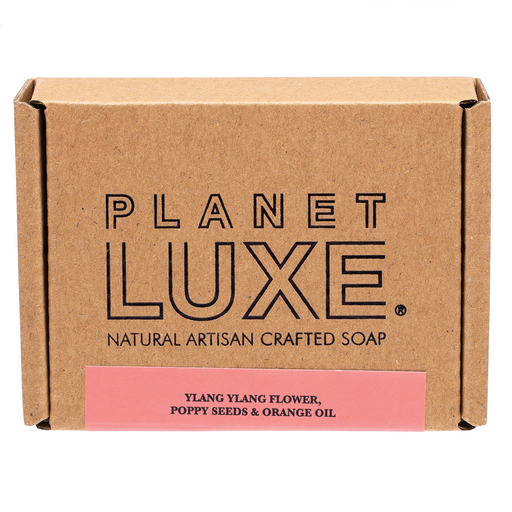 Planet Luxe Galaxy Natural Artisan Crafted Soap - Ylang Ylang & Orange Oil