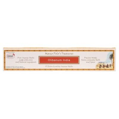 MARCO POLO'S TREASURES Incense Sticks Olibanum India 10