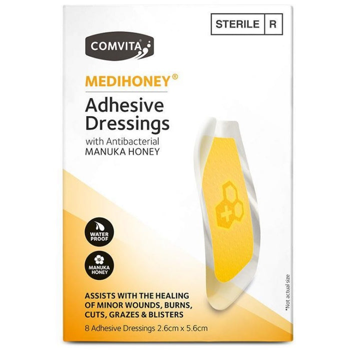 COMVITA Medihoney Adhesive Dressings Small