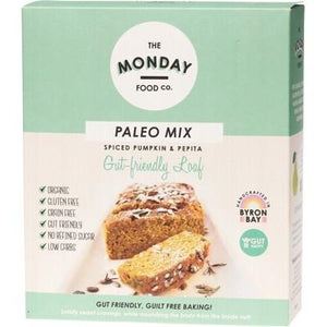 THE MONDAY FOOD CO. Paleo Loaf Mix Spiced Pumpkin & Pepita 300g