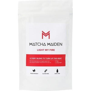 MATCHA MAIDEN Matcha Green Tea Powder Light My Fire 70g