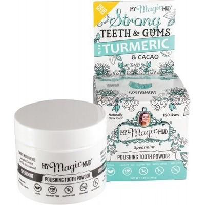 MY MAGIC MUD Polishing Tooth Powder Spearmint 40g
