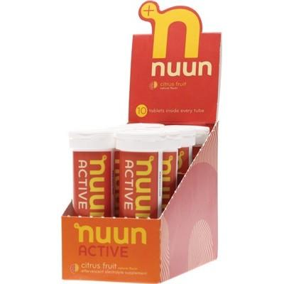 NUUN Active - with Electrolytes Tablets - Citrus Fruit 8x10Tab