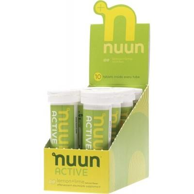 NUUN Active - with Electrolytes Tablets - Lemon + Lime 8x10Tab