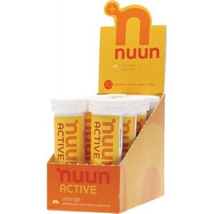 NUUN Active - with Electrolytes Tablets - Orange 8x10Tab