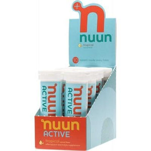 NUUN Active - with Electrolytes Tablets - Tropical 8x10Tab
