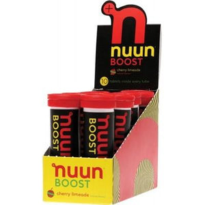 NUUN Boost - with Electrolytes Tablets - Cherry Limeade 10Tab