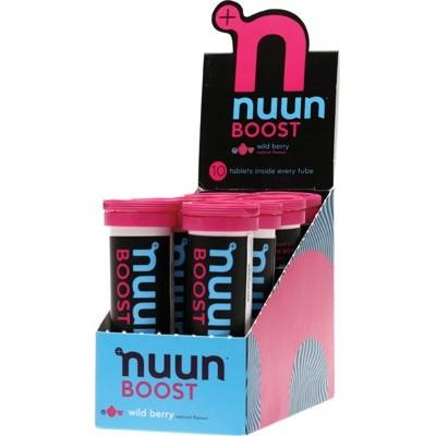 NUUN Boost - with Electrolytes Tablets - Wild Berry 10Tab
