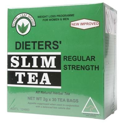 NUTRI-LEAF Herbal Tea Bags Slim Tea - Regular 30
