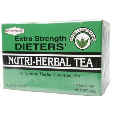 NUTRI-LEAF Herbal Tea Bags Dieter's Tea - Extra Strength 15