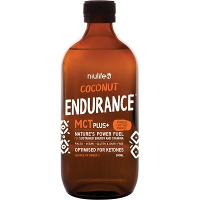 NIULIFE Coconut MCT Plus+ Endurance 500ml